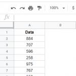 Как суммировать столбец в Google Таблицах (Простая формула)