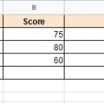 Как рассчитать средневзвешенное значение в Google Таблицах (простая формула)