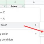 Как сортировать по цвету в Google Таблицах (простое пошаговое руководство)